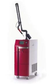 Q switch ruby laser